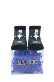Twist Little Stinker Socks - Front full body
