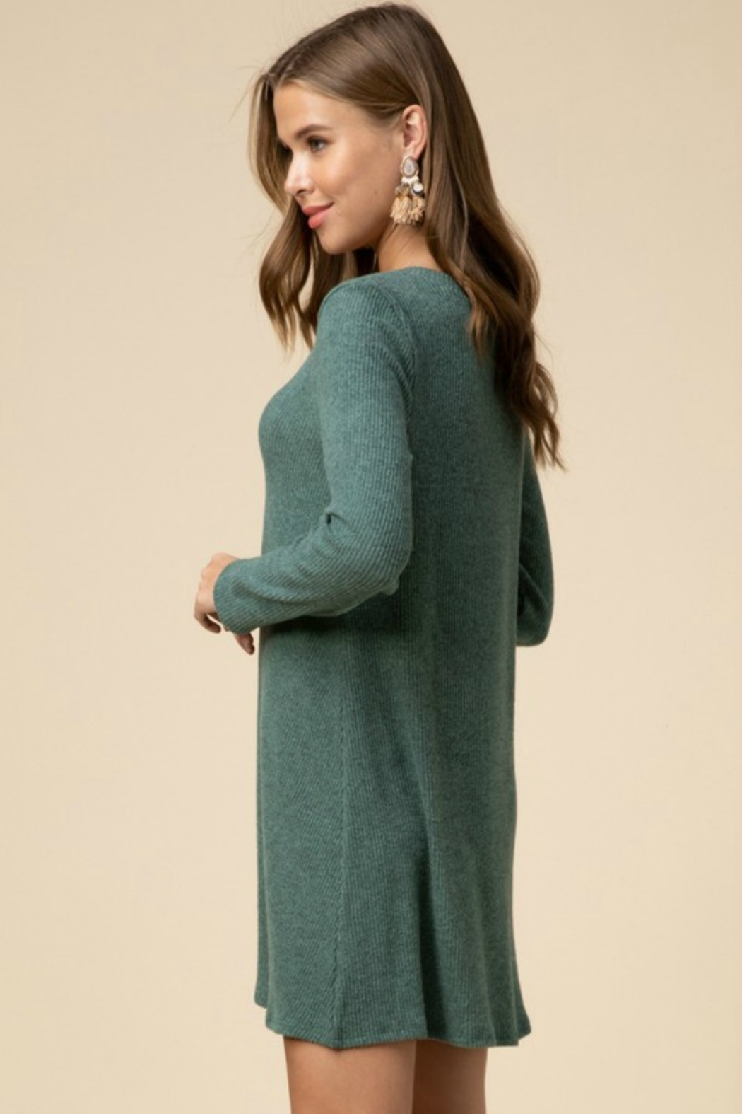 Entro TWIST OF FATE DRESS - Front Full Image