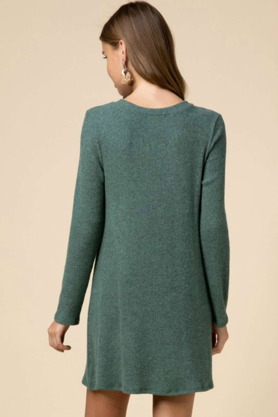 Entro TWIST OF FATE DRESS - Side Cropped Image