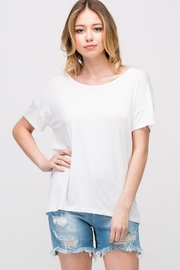Les Amis Twist On-A-White Top - Other