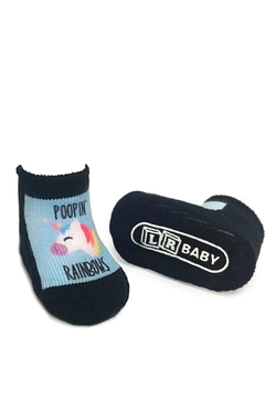 Shoptiques Product: Poopin' Rainbows Socks