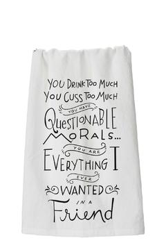 Shoptiques Product: Questionable Morals Towels