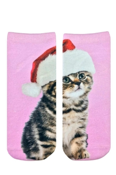 Shoptiques Product: Santa Kitty Socks