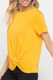 Lush  Twist Side Tee - Product Mini Image