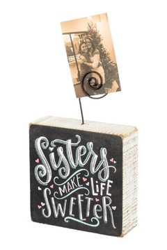 Shoptiques Product: Sister's Photo Frame