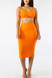 Goodtime Twist Skirt Set - Front cropped