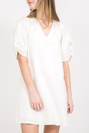 Very J Twist Sleeve Dress - Product Mini Image