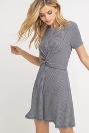 Lush Twist Stripe Dress - Product Mini Image
