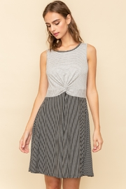 Hem & Thread Twist Stripe Tank Dress - Product Mini Image
