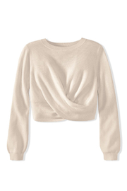 525 America TWIST TOP SWEATER PULLOVER - Side cropped
