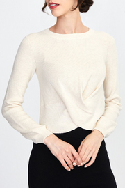 525 America TWIST TOP SWEATER PULLOVER - Front cropped