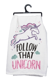 Twist Unicorn Dish Towel - Product Mini Image