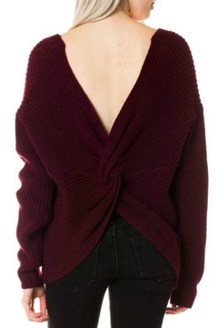 Shoptiques Product: Twisted Back Sweater