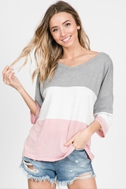 Lovely Melody Twisted Back Top - Front full body
