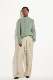 Vince Twisted Chain Jade - Side cropped