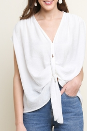 Umgee USA Twisted & Loved top - Front cropped