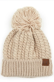 CC Beanie twisted mock cable beanie - Product Mini Image
