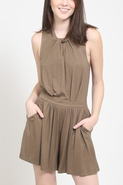 Very J Twisted Neck Romper - Product List Image