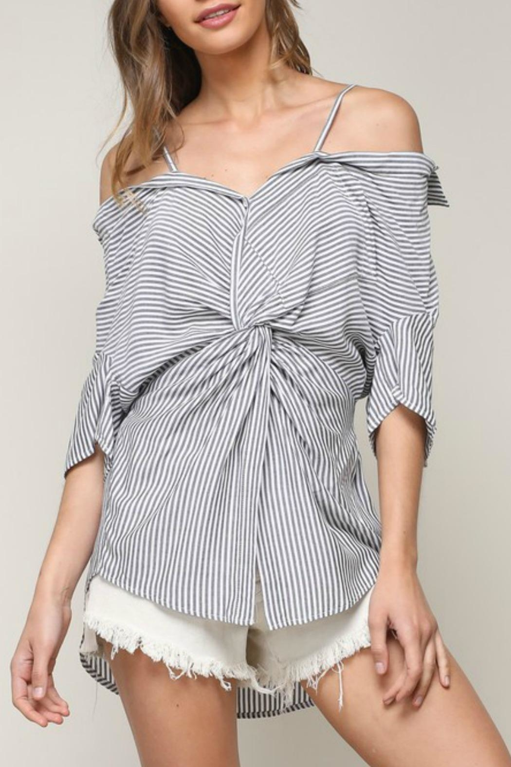 Mustard Seed Twisted Ots Shirt - Front Cropped Image