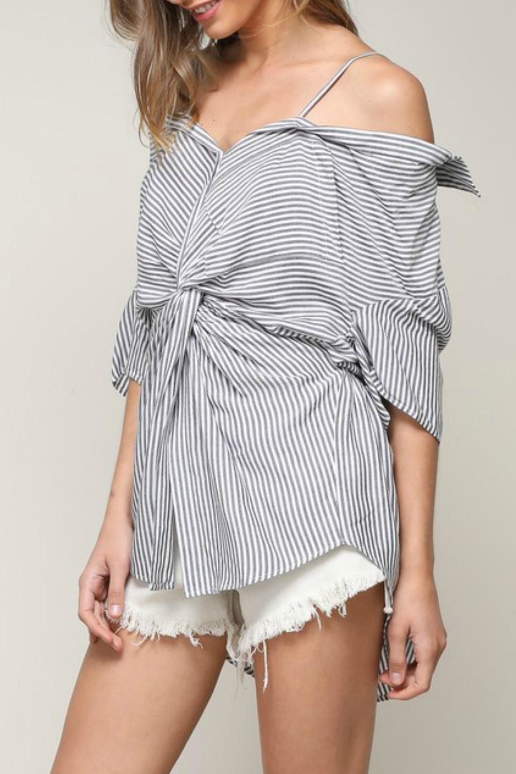 Mustard Seed Twisted Ots Shirt - Front Full Image