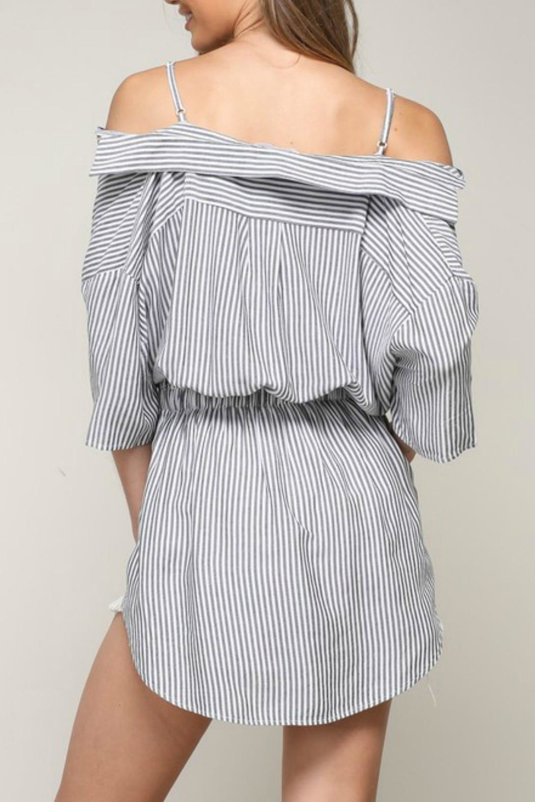 Mustard Seed Twisted Ots Shirt - Side Cropped Image