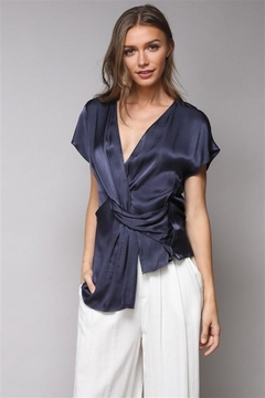 Do & Be Twisted Satin Top - Product List Image