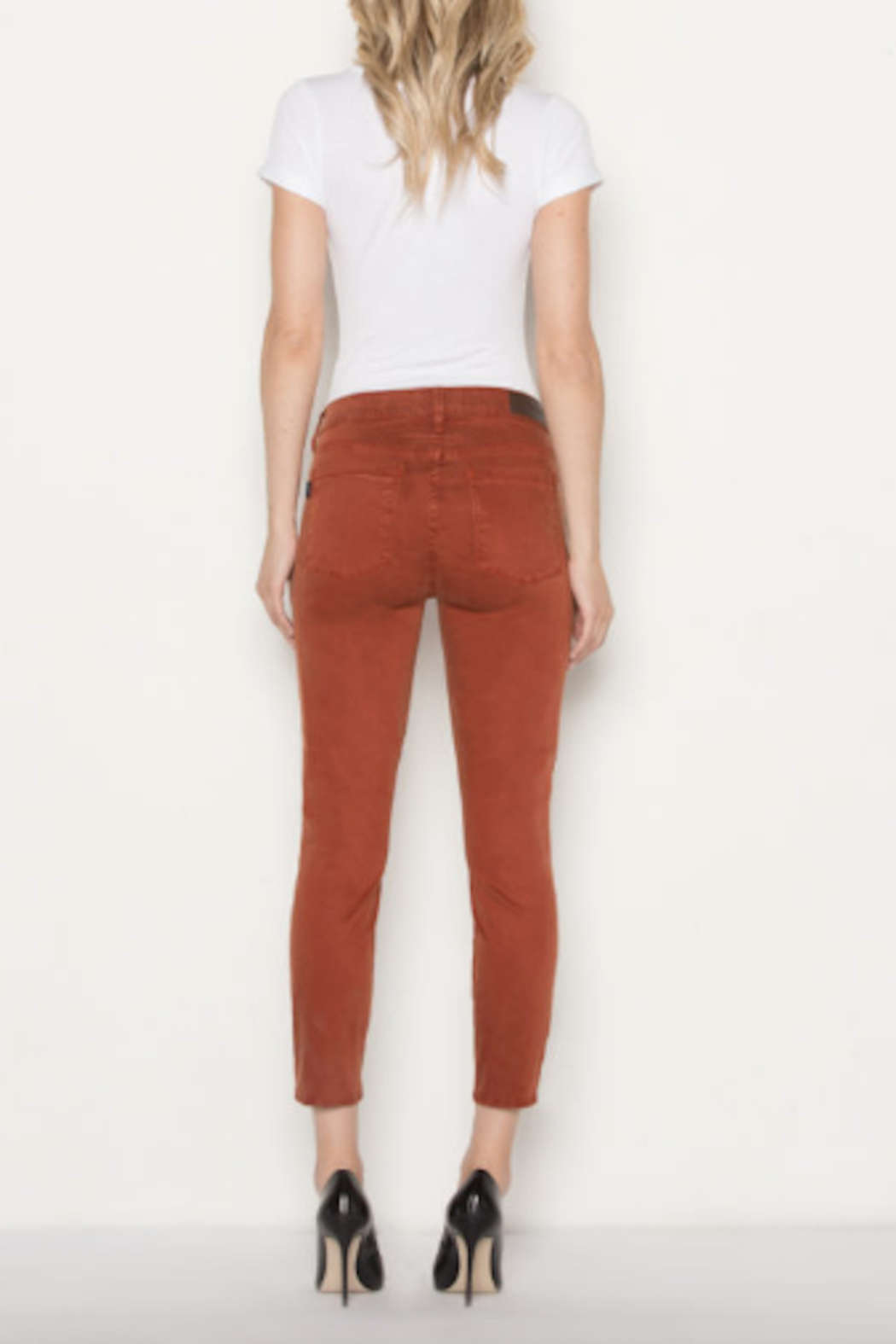 Parker Smith Twisted Seam Skinny Jean - Back Cropped Image