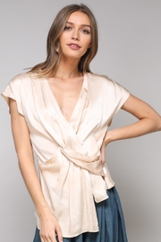 Do & Be Twisted Unbalanced Top - Product Mini Image
