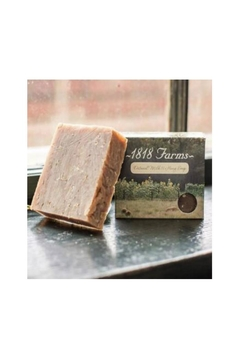 Shoptiques Product: 1818 Oatmeal-Milk-Honey Bar-Soap