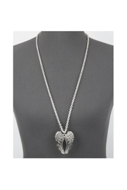 Twisted Designs Angel-Wings Long Necklace - Front cropped