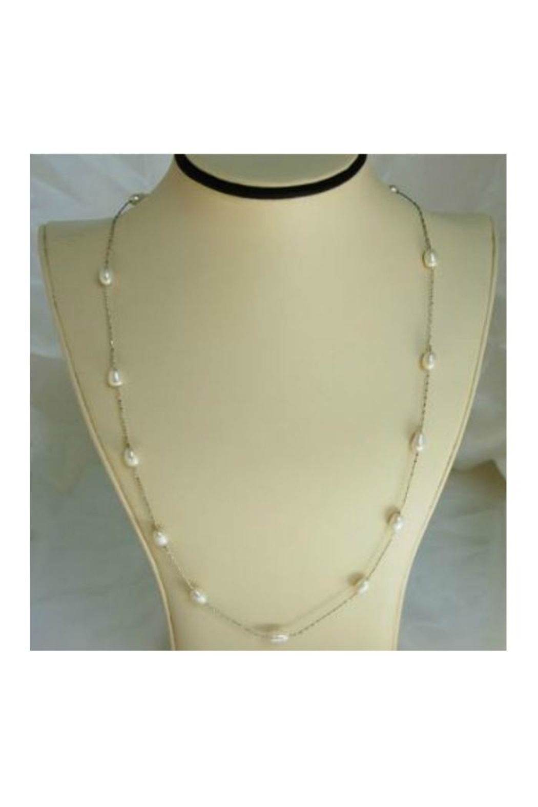 Twisted Designs Freshwater Pearl Necklace - Main Image