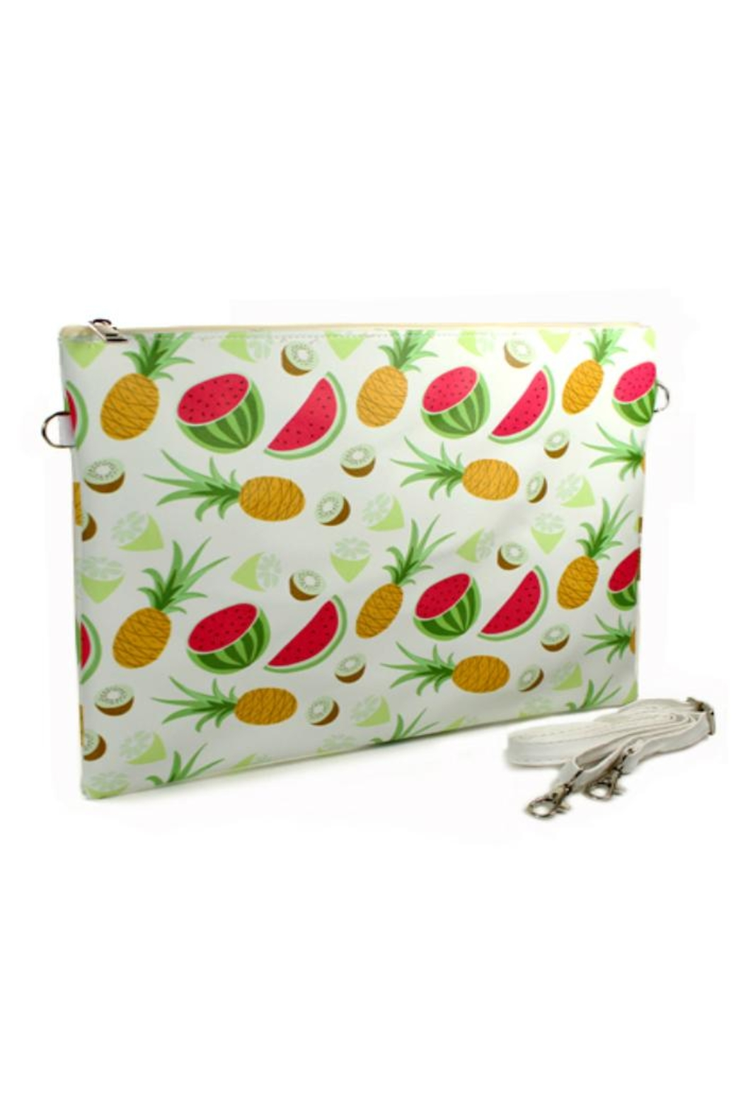 Twisted Designs Fruit Clutch Bag - Main Image