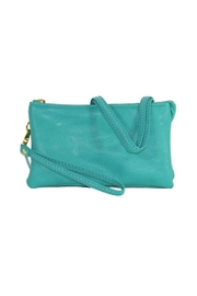Twisted Designs Mini-Bag Blue - Front cropped