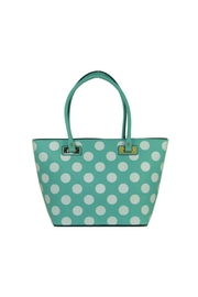 Twisted Designs Mint Polka-Dot Purse - Product Mini Image