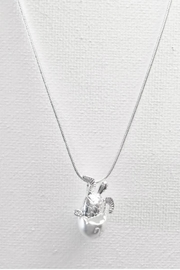 Twisted Designs Silver Hatching-Sea-Turtle Necklace - Product Mini Image