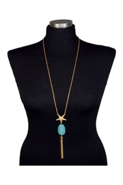 Twisted Designs Starfish-Tassel Royale Necklace - Product Mini Image