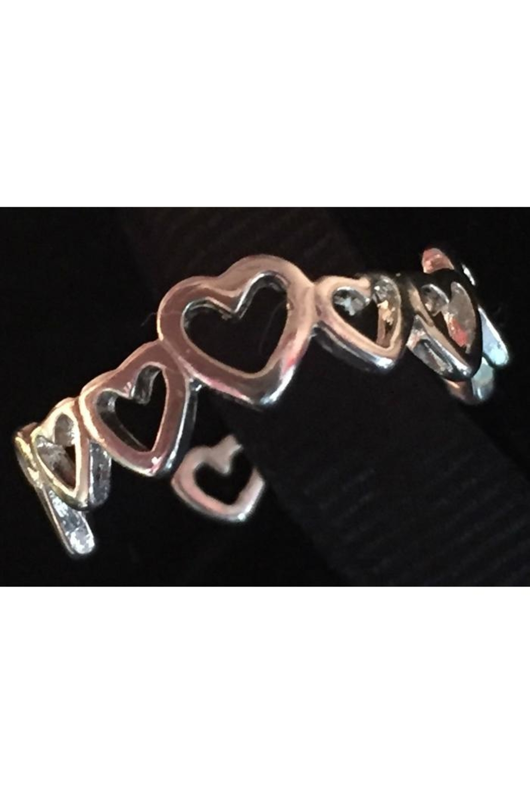 Twisted Designs Sterling-Silver Heart Toe-Ring - Main Image