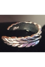 Twisted Designs Sterling-Silver Leaves Toe-Ring - Product Mini Image