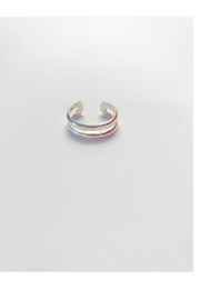 Twisted Designs Sterling Silver Toe-Ring - Product Mini Image