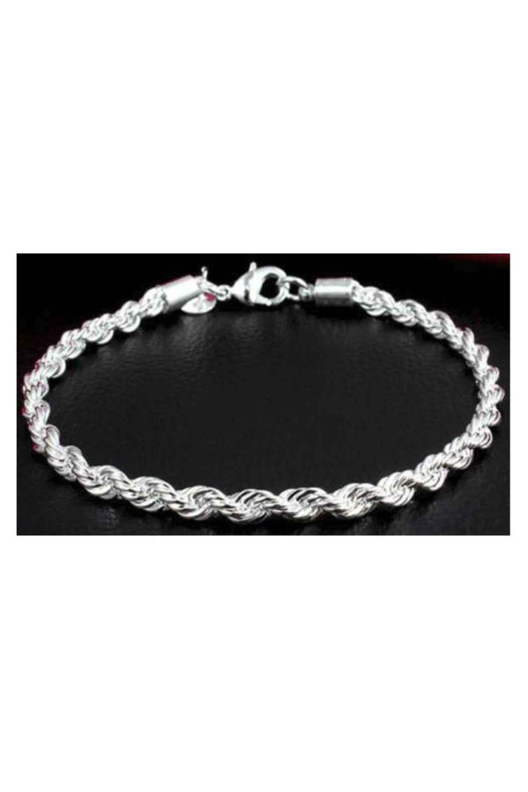 Twisted Designs Sterling-Silver Twist Bracelet - Main Image