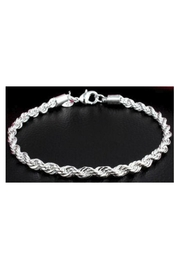 Twisted Designs Sterling-Silver Twist Bracelet - Front cropped