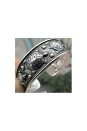 Twisted Designs Tibetan Silver Turtle-Cuff - Product Mini Image