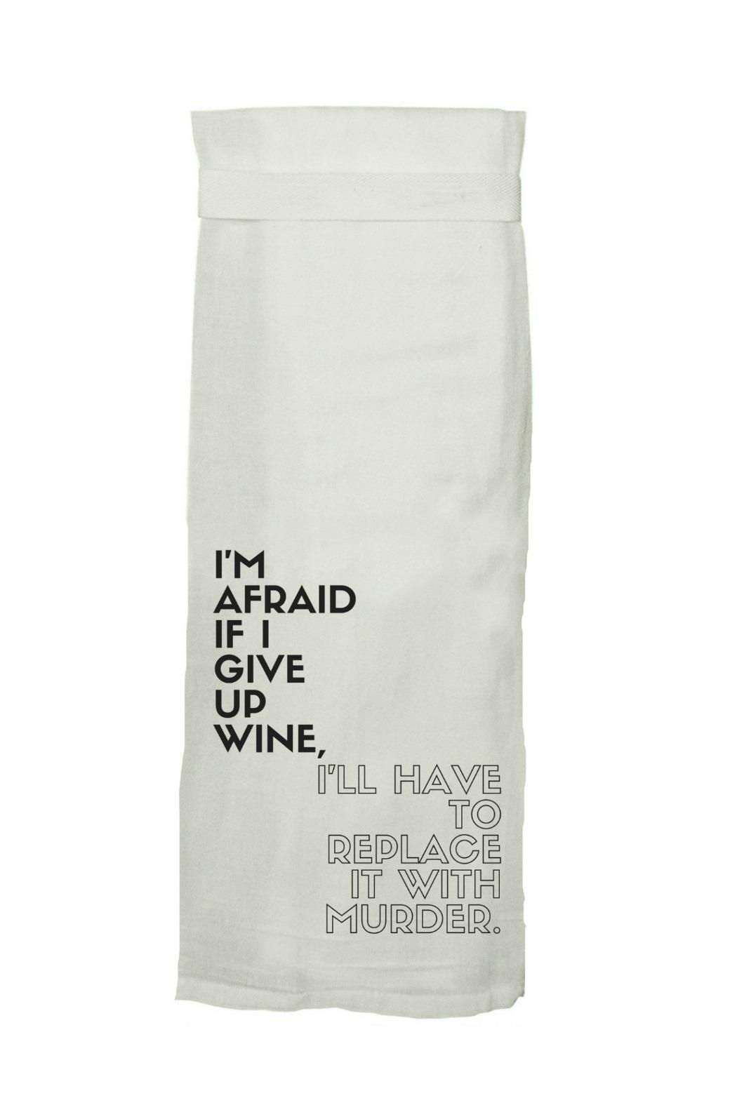 Twisted Wares™ Printed Towel - Front Cropped Image