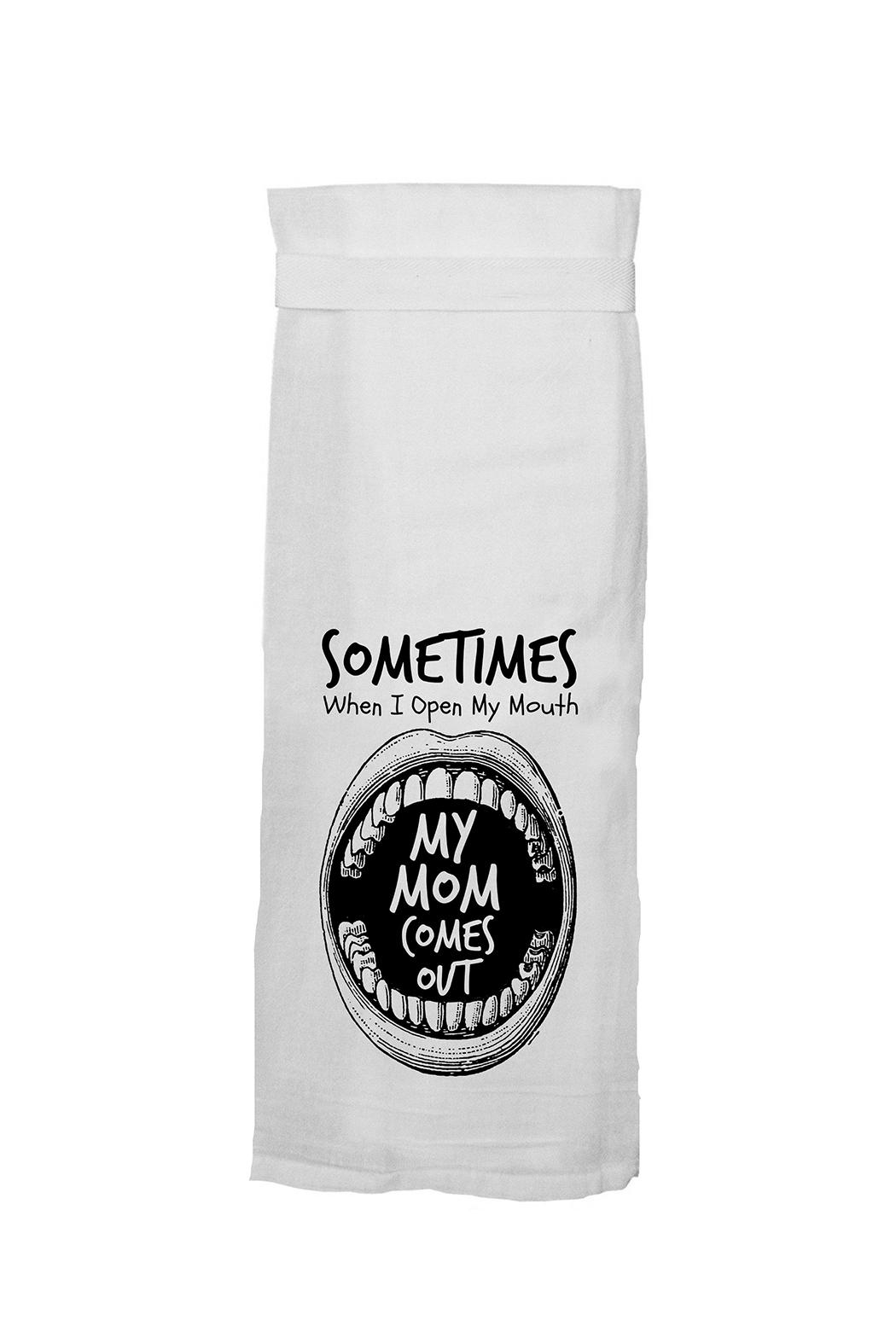 Twisted Wares™ Mom Out Towel - Main Image