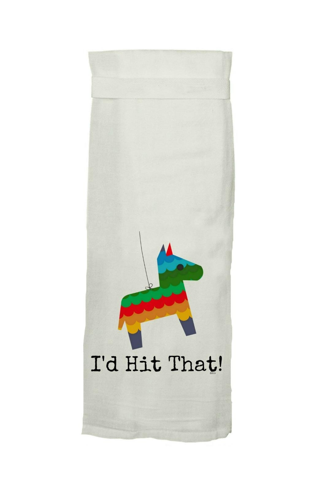 Twisted Wares™ Pinata Printed Towel - Front Cropped Image