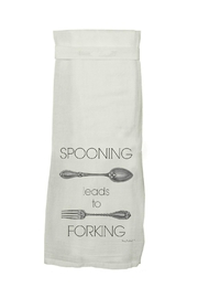 Twisted Wares Spooning Towel - Product Mini Image