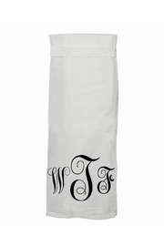 Twisted Wares Wtf Dish Towel - Product Mini Image