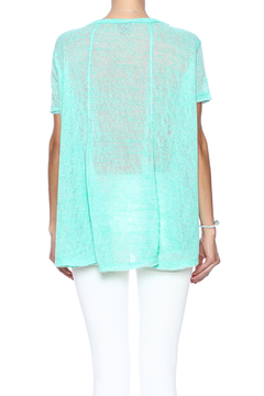 Two Chic Burnout Sweater Tee - Alternate List Image