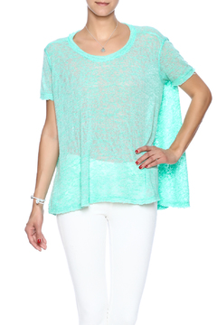 Two Chic Burnout Sweater Tee - Product List Image
