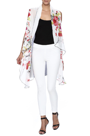 Two Chic Cherry Blossom Vest - Front full body